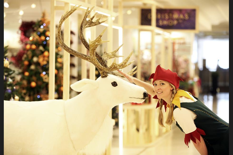 Image gallery: Selfridges opens Christmas shop – four months ahead ...